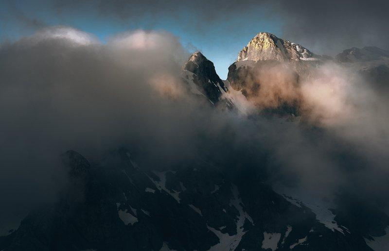 dolomiti, moon, alpi, panorama, giao Dolomitiphoto preview