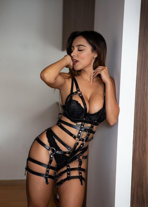 sexy, latín, lingerie, fitness, portrait, model Dulce solterophoto preview