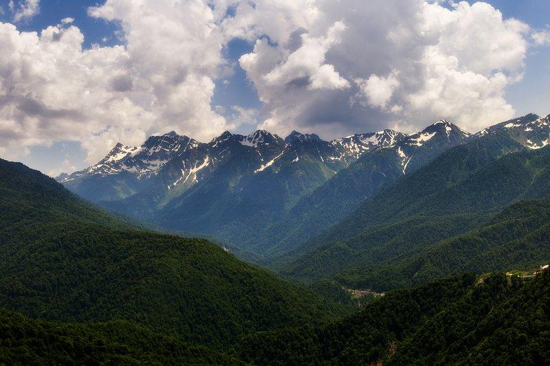 Кавказские горы photo preview