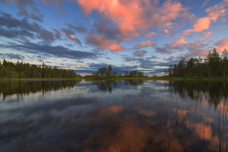 Белая финская ночь...photo preview