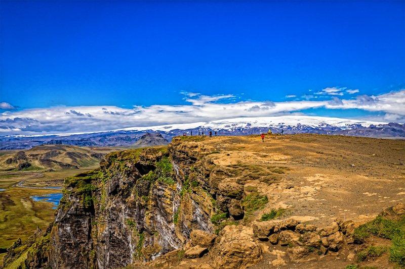 пейзаж, лето, природа, исландия, ладшафт На платоphoto preview