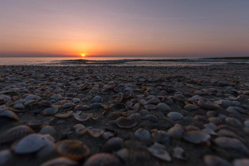 sunset,sea,waves,coast,beach Baltic Seaphoto preview
