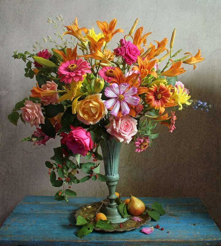 лето,  цветы, натюрморт, марина филатова Волшебные краски летаphoto preview