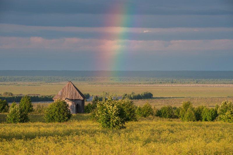 вологодчина,север,лето,вечер, ольково, онего, Южноонежский ландшафт.photo preview