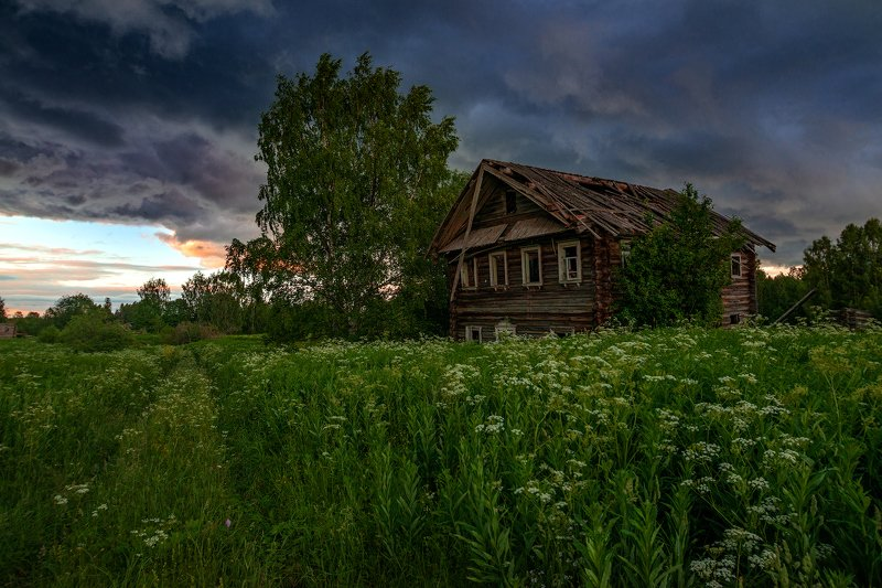 великий двор,вологодчина,кема,север,лето, Стемнелоphoto preview