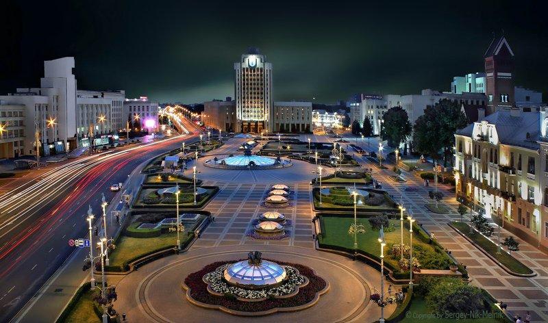 беларусь, город, минск, вечер, фотосфера-минск З июля – день освобождения Минска!photo preview