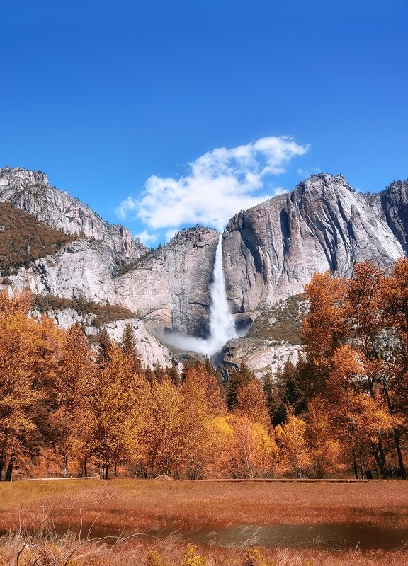 antrisolja, yosemite, nature, landscape Yosemite Fallsphoto preview