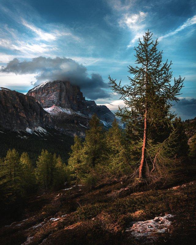 dolomiti, alpi, panorama, dolomites, mood, bluesilence,  rocks,  peaks,  cluouds,  glacier,  alps, wbpa,  nature, beautiful, Закат в Доломитахphoto preview