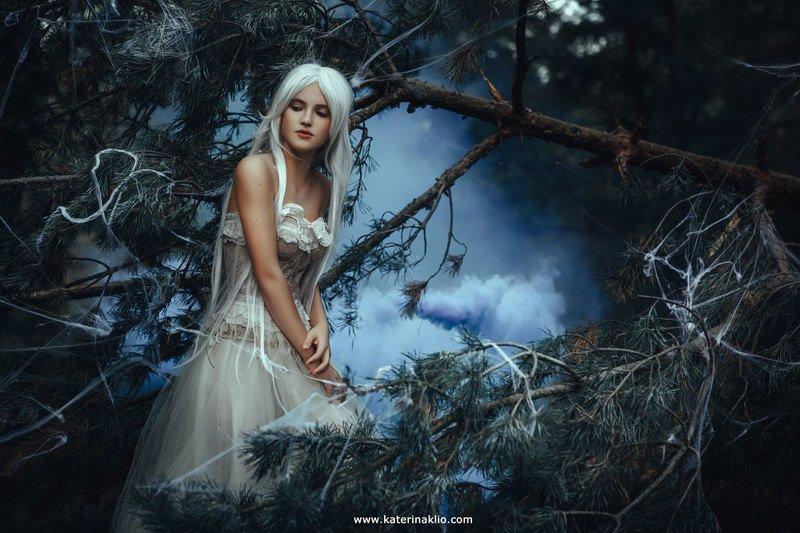 gentle, elf, fairy, fairytale, art, fine art, creative, creativity Gentle Elfphoto preview