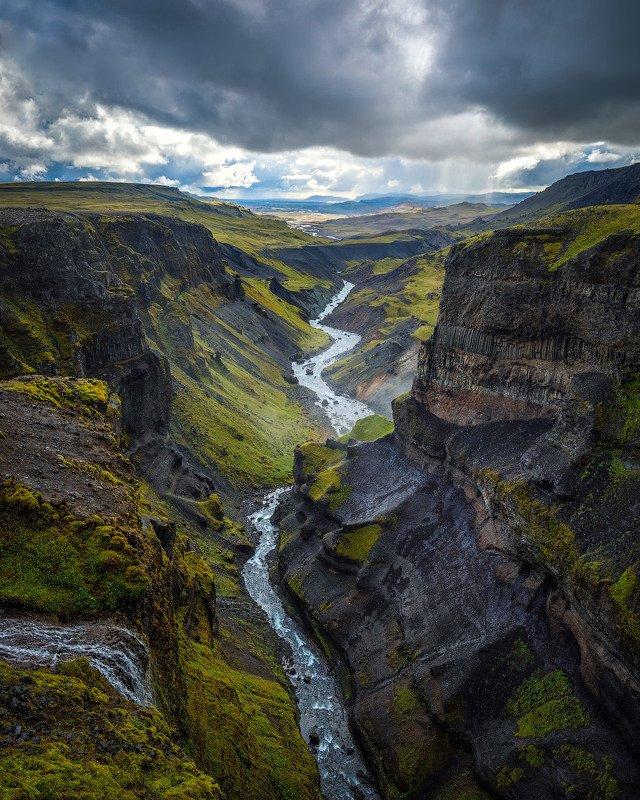 исландия, iceland, хайфосс, háifoss Секретный каньон.photo preview