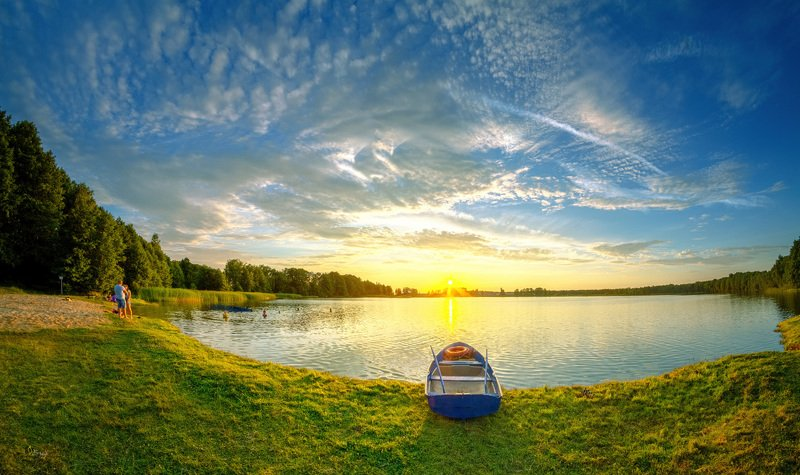 Беларусь Умытый летний вечерphoto preview