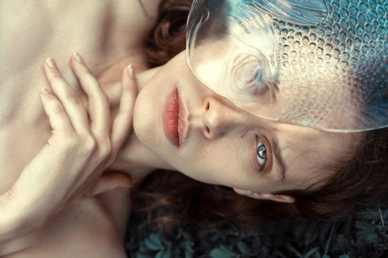 Женский портрет, портрет, природа, portrait, women, красивый портрет, взгляд  Машаphoto preview