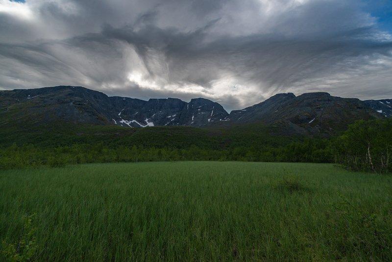 хибины, лето, кольский, заполярье, север,небо, Хибинский ландшафтик )photo preview