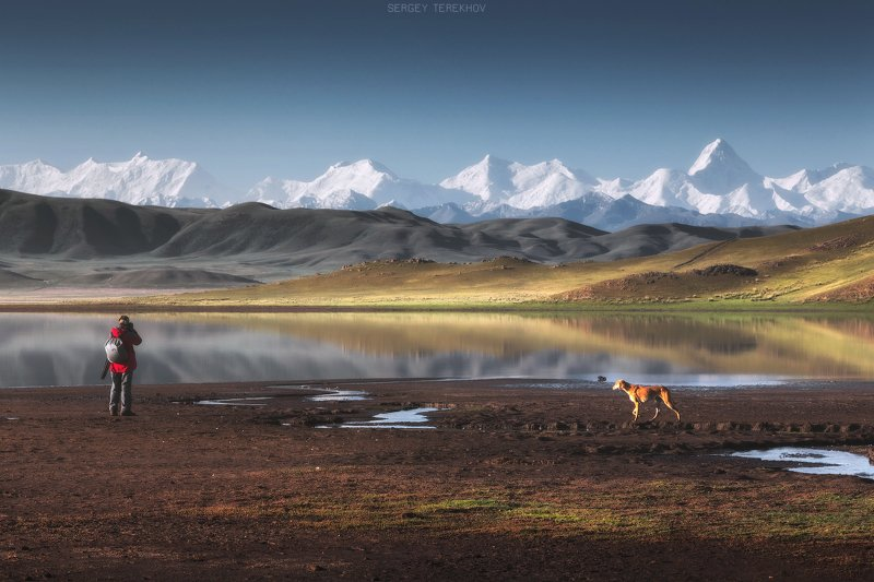 казахстан, озеро тузколь, северный тянь-шань, хан-тенгри, фото туры по казахстану, Тузколь озероphoto preview