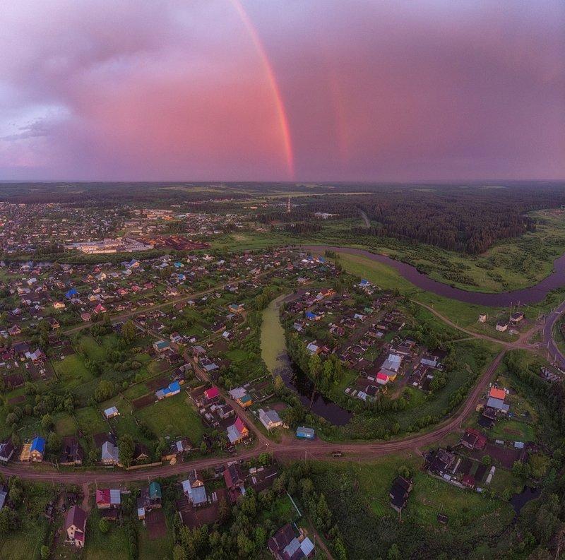 Вечерняя радуга.photo preview