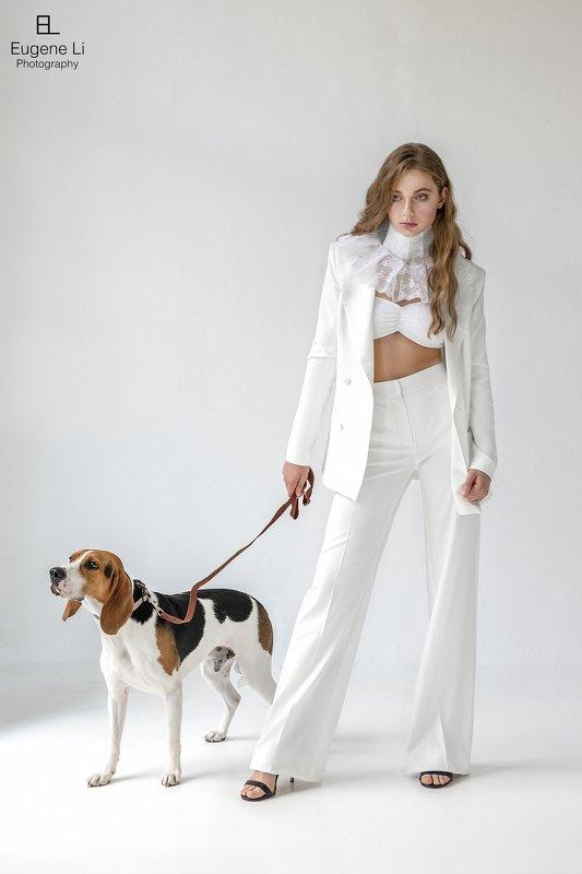 девушка, собака The Lady with the Dogphoto preview