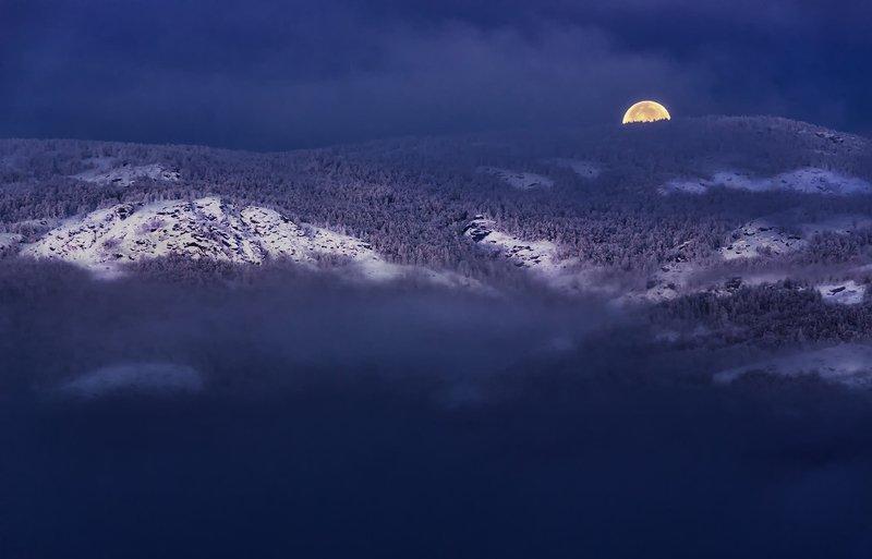 Суперлуние 15.11.2016 г. на Южном Урале.photo preview