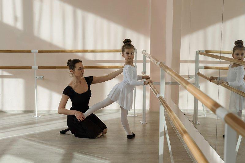 ballet балет учитель teacher ученик pupil балерина ballet dancer Урокphoto preview