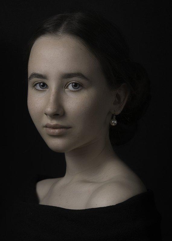 portrait, класстческий, портрет, девушка photo preview