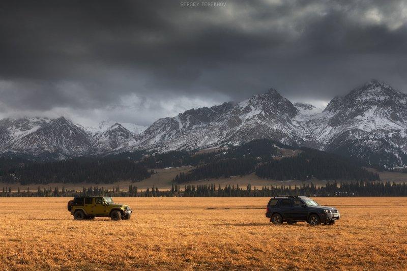 тянь-шань, казахстан, текес, фото казахстана, пейзажи казахстана, фототуры по казахстану, Долина реки Текесphoto preview
