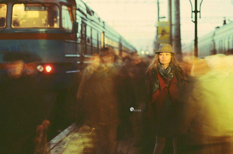 жизнь, станция, вокзал, ожидание, любовь, город • Жизнь - это путешествие. Каждая станция имеет свое времяphoto preview