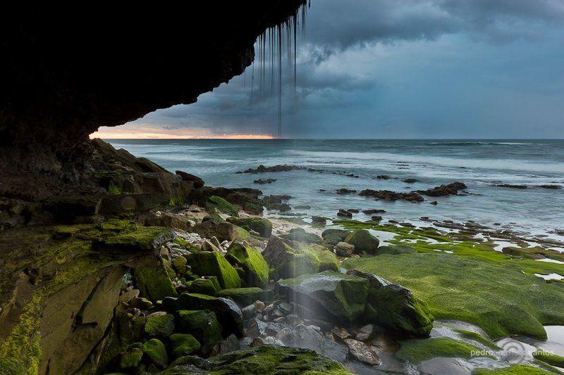 ericeira, praia do barril the waterfall (водопад)photo preview