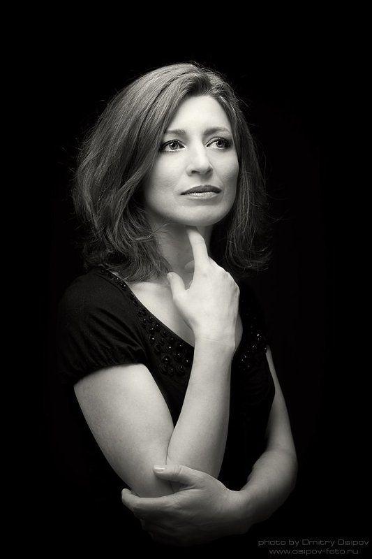 портрет,студия,дмитрий осипов,portrait,studio,dmitry osipov Портрет женщиныphoto preview
