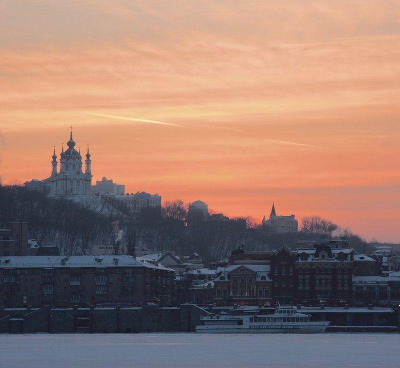 город, киев, днепр \