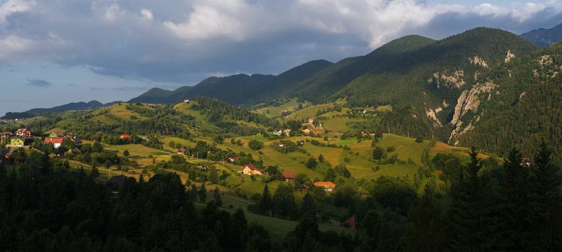 трансильвания, карпаты Солнечная Трансильванияphoto preview