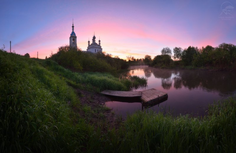 пейзаж, природа, церковь, савинское Савинское фото превью