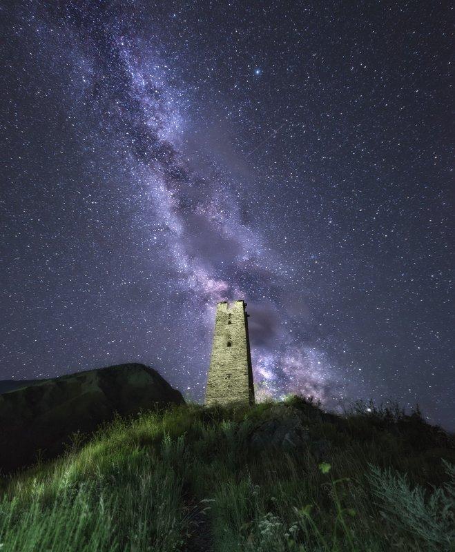 кавказ Кавказ. Под звёздным небом. фото превью