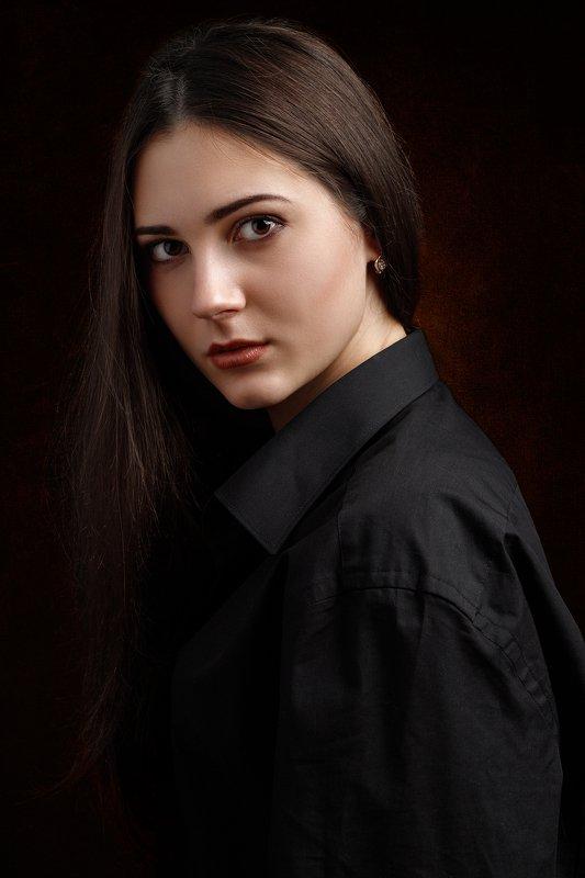 потрет, девушка Анастасияphoto preview