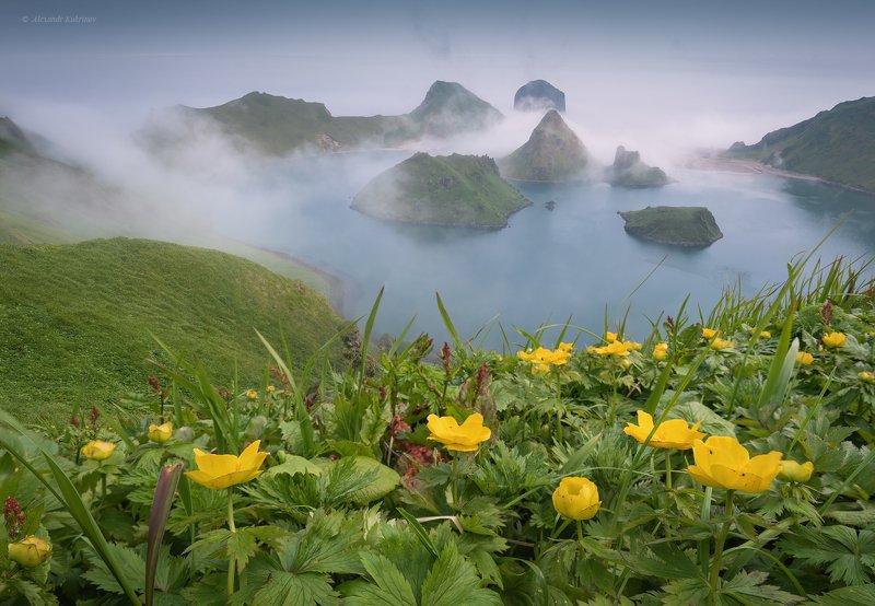 курилы, пейзаж, остров янкича Затерянный мир... фото превью