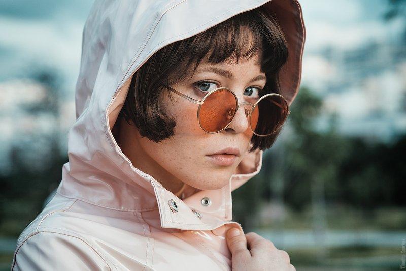 девушка, портрет, милая, cute, girl, portrait, glasses, очки Mashaphoto preview