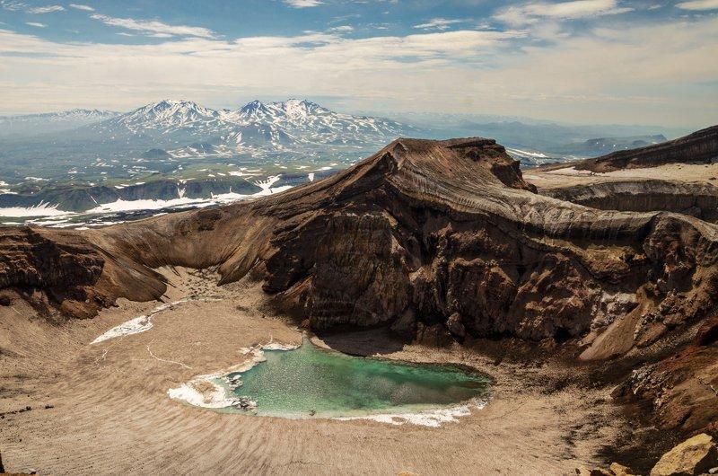 nevant60, пейзаж, красота, природа, камчатка, вулкан, кальдера Камчатка.Кальдера вулкана Горелыйphoto preview