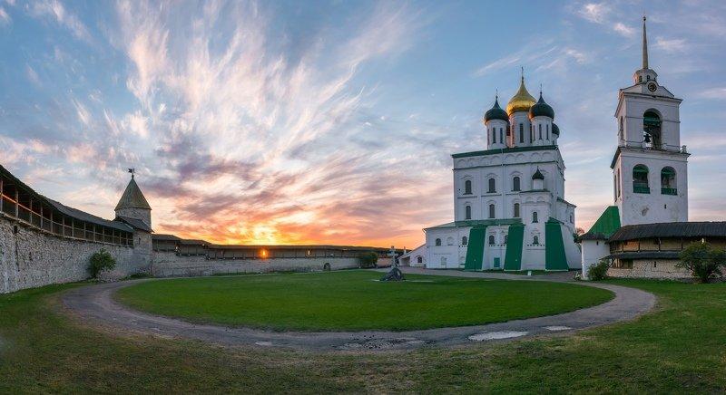 псков, кремль, кром, собор, город Кромphoto preview