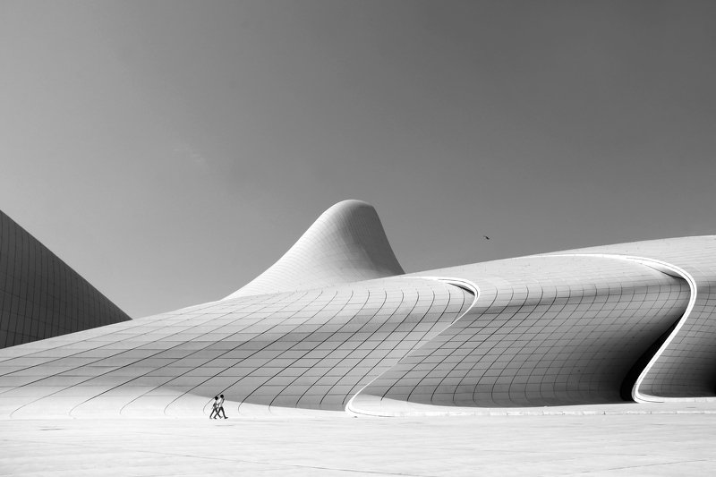architecture The building and the shadowsphoto preview