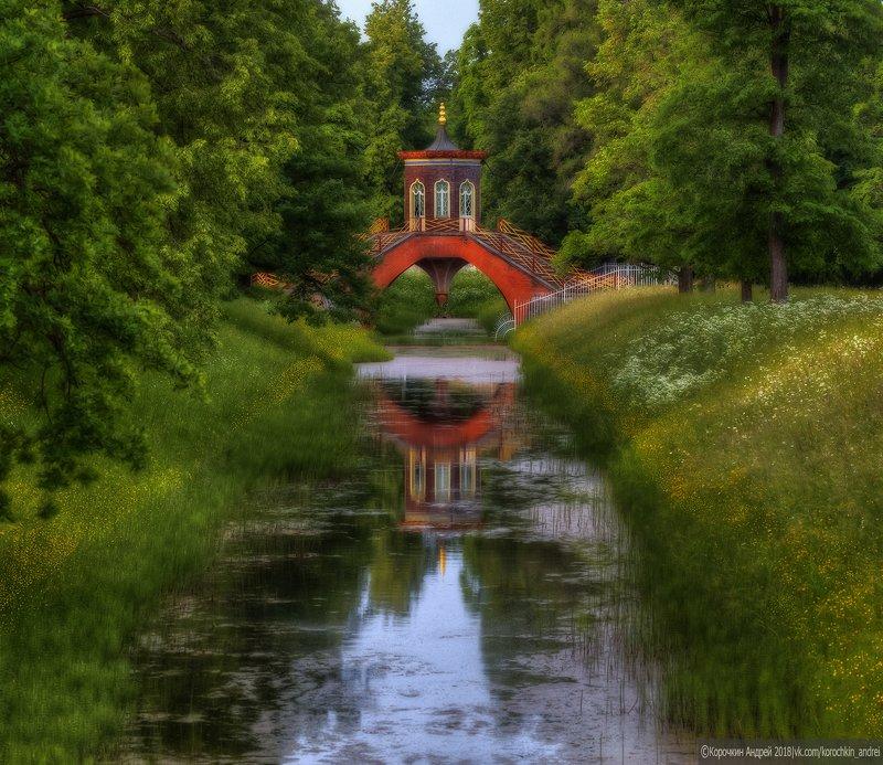 Крестовый мост в летнем...photo preview