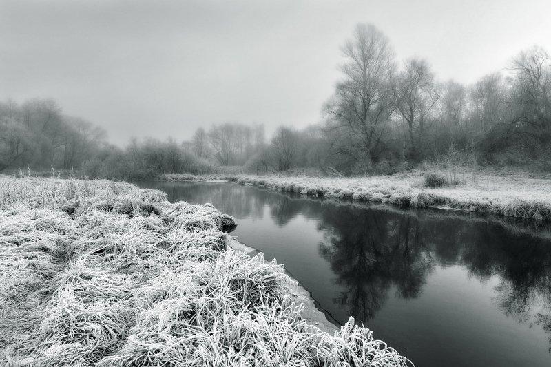 речка, заморозки, уныние Заморозкиphoto preview
