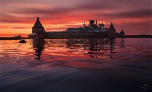 Алые ночи Белого моря ..