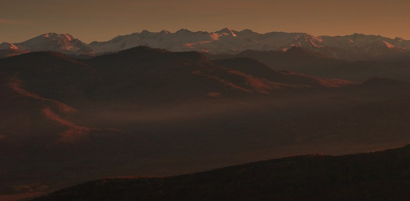 псебай, горы, ачешбок, хребет, скирда photo preview
