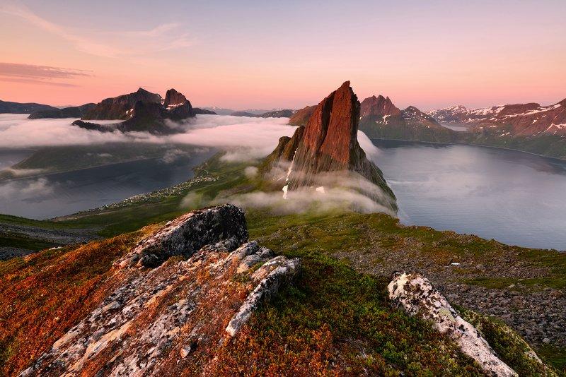segla Segla, Norway, Senja islandphoto preview
