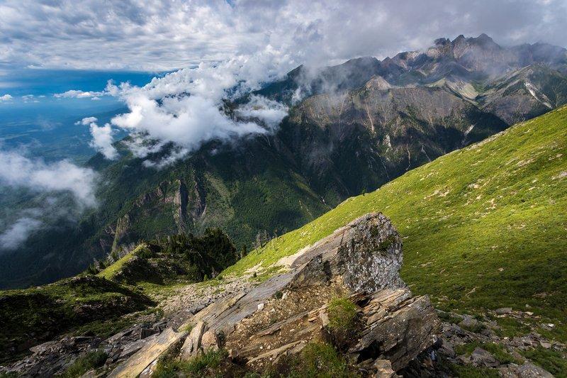аршан, бурятия, тункинская, долина, сибирь, дальний , восток, пик, любви Над облакамиphoto preview