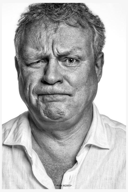 портрет, портретист, фотохудожник, черное-белое, ч-б, черно-белая фотография, марк назаров, снимаю шляпу, актер, театр, кино, звезды, фотосессии, фотопроекты Портрет Сергеяphoto preview