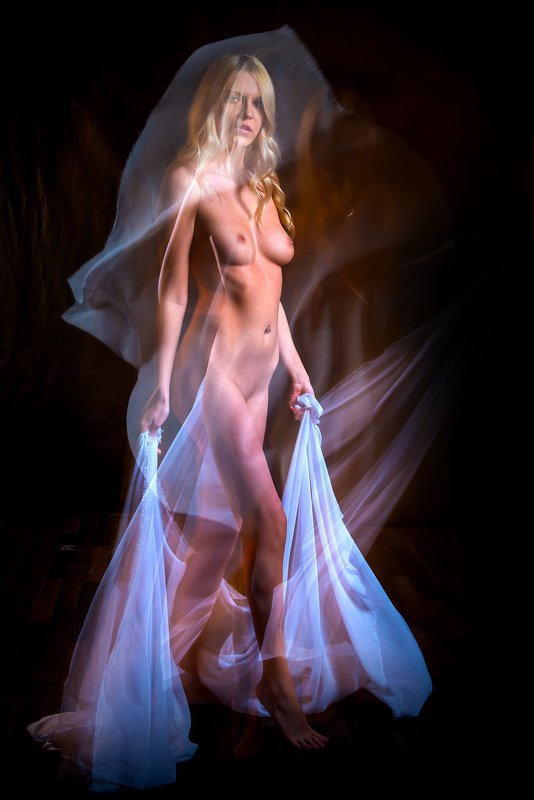 ню, золушка, мультиэкспозиция Cinderellaphoto preview