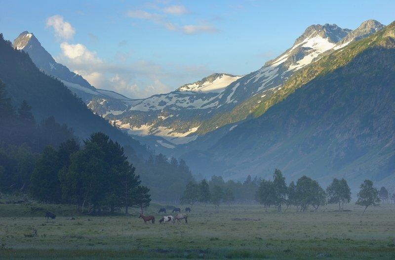 горы лето кавказ маруха После дождяphoto preview