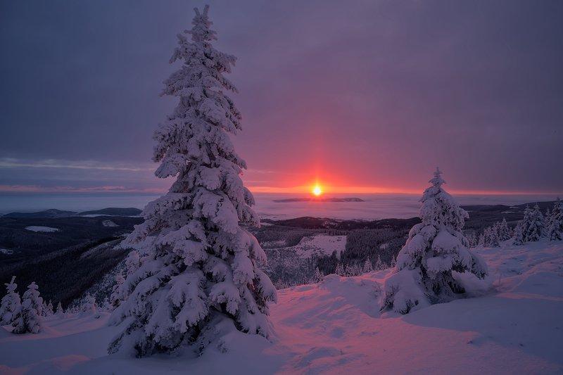landscape,canon,sunrise,winter,mountains High Hopes.photo preview