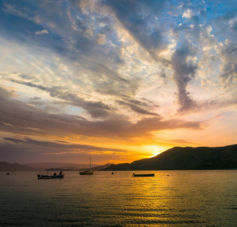 крым, закат Закатный вечер (в серии)photo preview