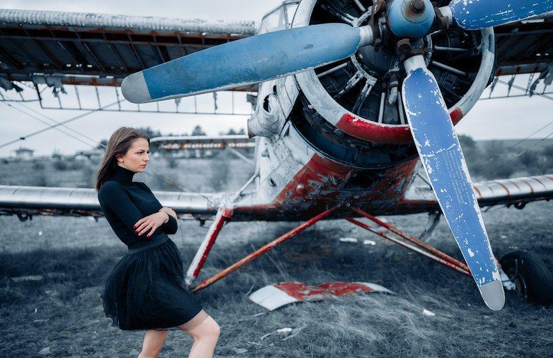 Старый самолетphoto preview