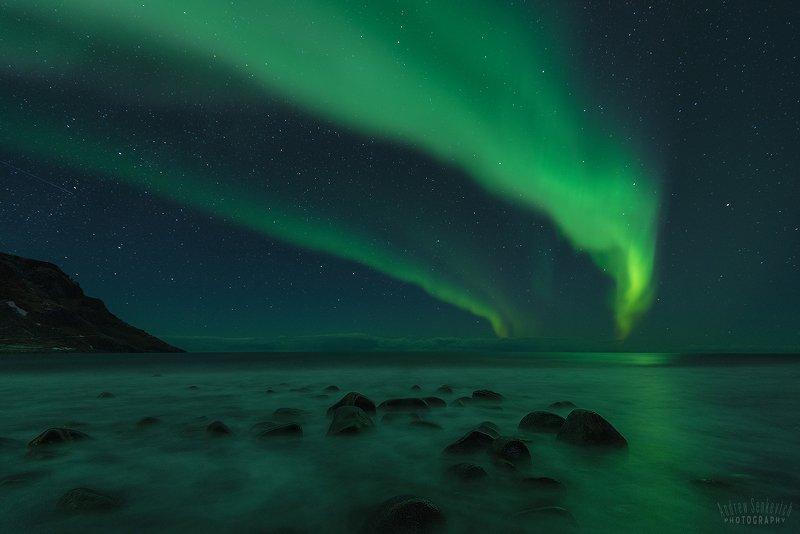 лофотены, lofotens, северное сияние, aurora Лофотены. Сияние 5. =)photo preview